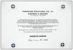 Powerless Structures Fig 101 (paulevans13) Tags: horse london art fountain square gold gallery braces mayor johnson trafalgar nelson battle gild 101 national boris council olympic rocking plinth 2012 gilt elmgreen dragset fourthplinth