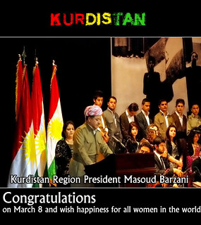 From http://www.flickr.com/photos/8605011@N02/6816983266/: Kurdistan Region President Masoud Barzani