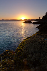 Sunrise (Dylan Farrow) Tags: longexposure morning blue newzealand sunrise dark dawn pixelpost flickrpost whangapoua 60d