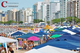 Barracas Praia do Morro - Guarapari - ES - Brasil