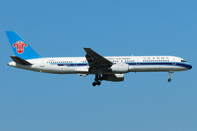 China Southern Airlines Boeing 757-2Y0 B-2831  MSN 26153