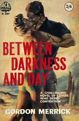 Between Darkness and Day (54mge) Tags: vintage book ace paperback novel