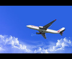BRB (3    d ) Tags: travel blue sky clouds thailand nikon airways brb qatar      3houd ohoud