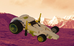 XT-13 Intergalatic patrol vehicle (Dakar A) Tags: car lego space frog vehicle dragster spacecar frogspace futurictic