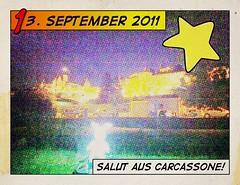 13.09.2012: Grüße aus Carcassone