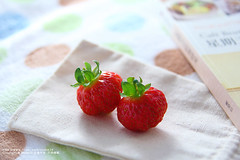 ~ (nodie26) Tags: red food fruits vegetables fruit strawberry dish greens dishes veg    vegetarianism