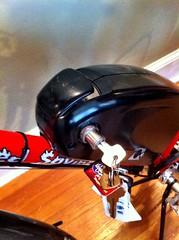 Bionx battery and key (Prima Cyclorina) Tags: bike bicycle electric battery assist motor bionx