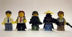 Anime Figbarf (The Brick Guy) Tags: rock kino lego prototype hacker custom ghostintheshell cyberpunk minifigure sensou blacklagoon brickarms toshokan mmcb kinosjourney amazingarmory steinsgate makisekurisu