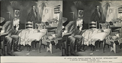 """""""The Doctor"""" Diorama After Fildes Painting, Petrolagar Exhibit Century of Progress.  =view stereo (depthandtime) Tags: old sculpture chicago vintage found stereoscopic stereophotography 3d illinois 1930s view antique stereo card views depression stereoview stereograph foundphoto diorama 30s thedoctor 1933 stereographic parallelview unmounted centuryofprogress acenturyofprogress keystoneviewcompany fildes petrolagar stereoscopeview juniorformat petrolagarexhibit"""