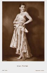 Ellen Richter (Truus, Bob & Jan too!) Tags: 1920s cinema film fashion sepia vintage germany star austria ellen silent dress postcard german actress jewish movies glam richter austrian schauspielerin ellenrichter