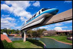 Epcot Monorail (Silver1SWA (Ryan Pastorino)) Tags: canon epcot sigma monorail waltdisneyworld sigma1020 40d