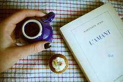 L'amant #1 (miss_mixtape) Tags: sunday libri cupcake duras lamante lamant