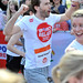 David Tennant Sainsbury's Sport Relief Mile 2012 - London