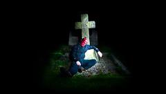 Resting Ground (Cowboy 55) Tags: portrait church night nikon cross tokina hellboy freaks 1116mm sempringham d300s