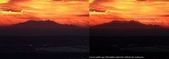 Canigou gant vu de Sainte-Victoire 23 01 2012 (bruno Carrias) Tags: montagne illusion provence canigou saintevictoire doptique rfraction