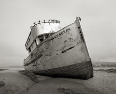 The Point Reyes, Tomales Bay (austin granger) Tags: california abandoned film mediumformat coast time decay shipwreck pointreyes tomalesbay pointreyesnationalseashore austingranger