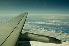 Atlantic Ocean (Pedro Monteiro Palma) Tags: sky clouds plane céu nuvens avião atlanticocean oceanoatlântico canon1855 canon550d