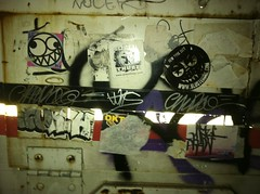 turn up the night (Underdestruction) Tags: nyc ny graf stickers handstyles baser underdestruction wish914