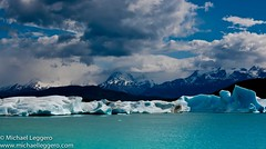 patagonia (Michael Leggero) Tags: chile sky patagonia mountain snow ice southamerica nature water argentina clouds river landscape scenic glacier massive andes