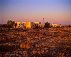 Karoo ruins (1 other people) Tags: africa sunset building film farmhouse soft pentax farm south ruin farmland velvia filter 09 lee transparency nd cape 6x7 grad eastern fujichrome derelict veld 67 graduated karoo neutraldensity camdeboo grahamhobbs