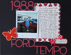 12 LOAD 212 Ford Tempo (itsstilllife) Tags: scrapbooking twelve load23