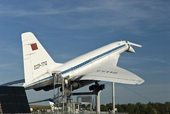 Tupolev TU-144, The Auto & Technik Museum Sinsheim, Germany (dkjphoto) Tags: auto travel tourism car museum germany airplane fly flying europe tour russia antique aircraft aviation flight technik tourist concorde russian airliner supersonic tupolev badenwrttemberg sinsheim tu144 tupolevtu144 dennisjohnson autotechnikmuseumsinsheim wwwdenniskjohnsoncom