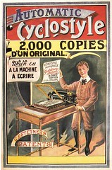 Cyclostyle (1890) (ehem. Diether Petter) Tags: vintage office bureau retro card belle jugendstil epoque schreibman