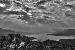 A beautiful Vista. (Parth Jhala) Tags: bw india monochrome clouds landscape scenery pune hdr bhor sahyadrihills punemaharashtra canoneos550d