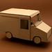 Cardboard Mail Truck