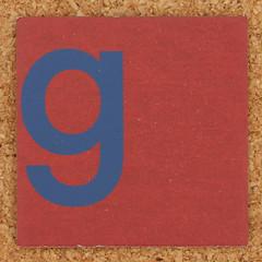 Cardboard blue letter g (Leo Reynolds) Tags: canon eos iso100 g letter 60mm f80 oneletter ggg letterset lowercase 40d hpexif 0077sec grouponeletter xsquarex xleol30x xxx2012xxx
