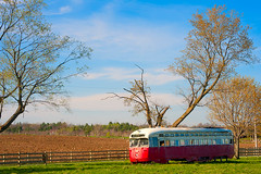 Abandoned beauty. (kaybee07) Tags: blue red canada abandoned america nikon ttc north full frame fullframe streetcar d700