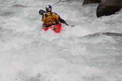 Ben Brown on  the Upper Penkenushi extreme Kayaking  Japan