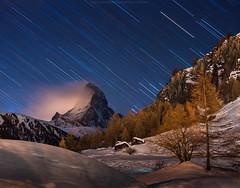 amother zermatt startrail (CoolbieRe) Tags: night star thepowerofnow