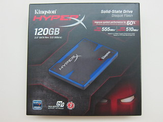 Kingston HyperX SSD 120GB