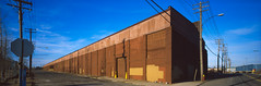 ribbon farm warehouse (gsgeorge) Tags: city industrial detroit panoramic warehouse 6x17 citygrid cityplanning detroitindustry detroithistory 617panoramic ribbonfarm