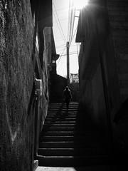 (Daniel Ivn) Tags: street mxico stairs walking mexico atardecer calle afternoon shadows caminata sombras escaleras valledebravo