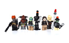 Bounty Hunters (Mr.Macgyver) Tags: starwars lego tinman bountyhunters ratboy