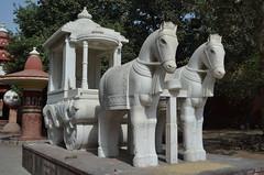 Lakshmi Narayan Mandir Horses