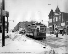Third Ave. Ry. 205, Bronx, NY, 1940s (ovondrak) Tags: newyork bronx trolley tars thirdavenuerailway
