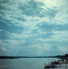 May River (VLBPhotography) Tags: portrait usa film beach analog mediumformat southcarolina bluffton hiltonheadisland kodakportra400 mayriver russianlenses squarephotography p6mount