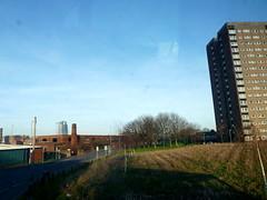 Holbeck - Leeds (James W Bell (Good Honest Iago) - Leeds) Tags: towerblock highrise councilflats socialhousing midcenturyhousing flats innercity deprivedarea councilestate deprivation towerblocks southleeds housing brutalism 50s 60s civilarchitecture midcentury