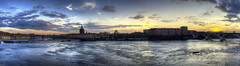 Toulouse sunset (Re PiEd) Tags: panorama panoramic toulouse hdr