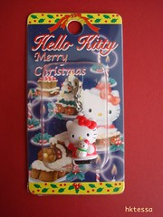 Hello Kitty Merry Christmas limited mascot-2002. (HKTESSA) Tags: cute japan hellokitty kitty charm sanrio mascot kawaii fastener gotochi