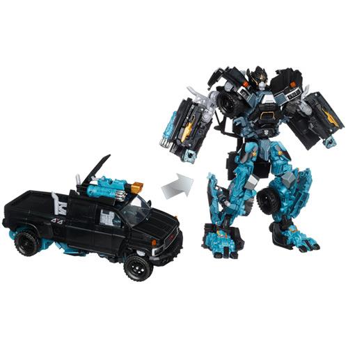 历史低价:Hasbro 孩之宝 变形金刚3电影武器轴动系列领袖级-铁皮 $26.98