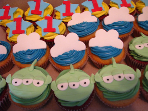 Toy Story cupcakes