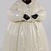 204. Antique Mammy Porcelain Cookie Jar