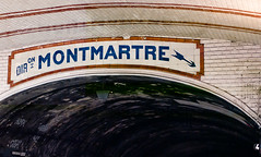 Nord-Sud station 3 (Alex12Ga) Tags: leica paris france station 35mm ceramics gare metro cosina mtro m8 12 nokton vii voigtlnder cv ligne cramique f12 carrelages 3512