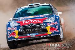 Vodafone Rally de Portugal 2012  - Citroen DS3 WRC - Mikko Hirvonen / Jarmo Lehtinen (Hugo Tiago) Tags: portugal de rally citroen wrc vodafone mikko 2012 ds3 jarmo lehtinen hirvonen worldcars