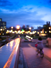 Sunset at Nakanoshima Park (hyossie) Tags: sunset japan lumix streetlight panasonic osaka nakanoshima gf1 g20mmf17