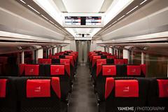 N'EX Narita Express / Tokyo, Japan (yameme) Tags: travel japan canon eos tokyo chiba    narita naritaexpress naritaairport   nex  24105mmlis 5dmarkii 5d2